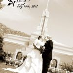 Mt Timp Temple, Michael and Lacy Walter