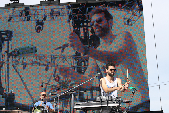 Geographer at Treasure Island Festival 2011 Day 1