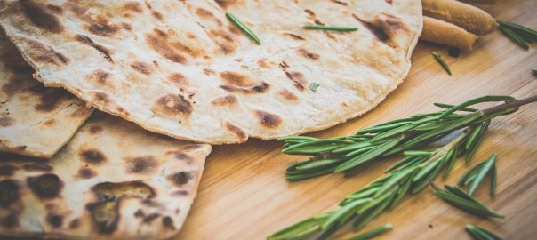 Easy grilled Naan bread-4930