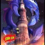 Beast Legion Comic Con 2012 poster