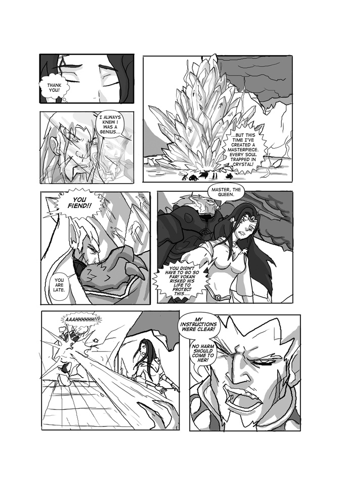 Issue 02, Page 32, The Crystal Prison