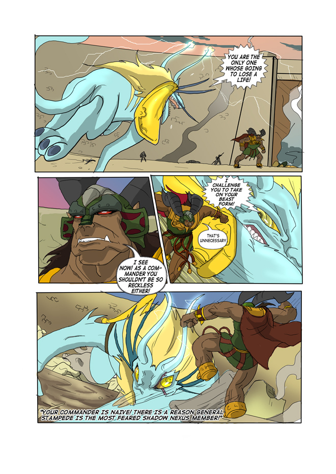 Issue 06, Page 50, Generals Collide