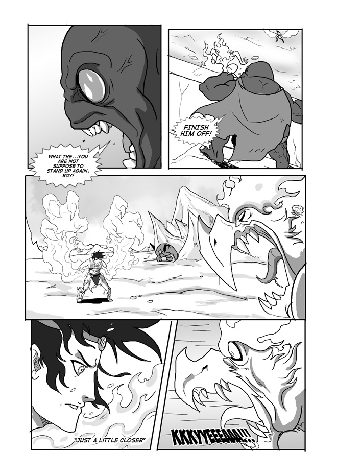 Issue 09, Page 29, Xeus's Plan