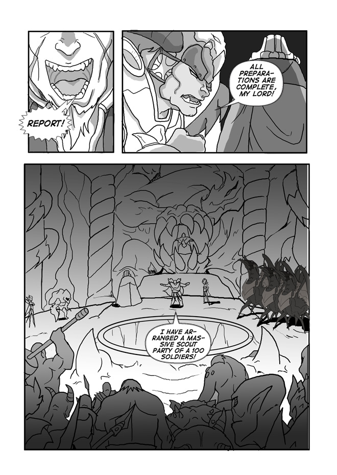Issue 11, Page 22, Preparations for the Hunt