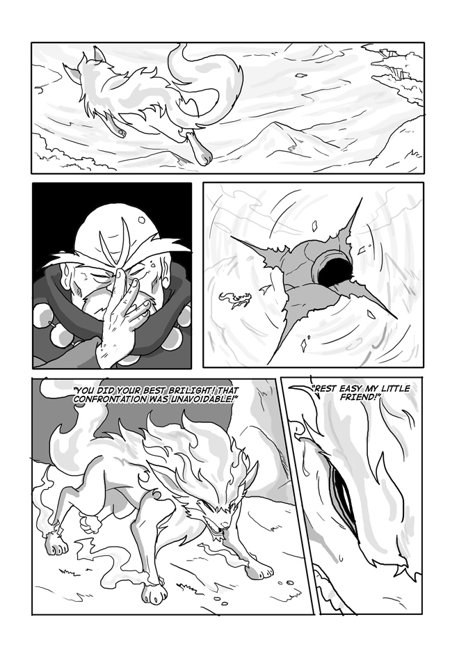 Issue 13, Page 23, Exhausted Brilight