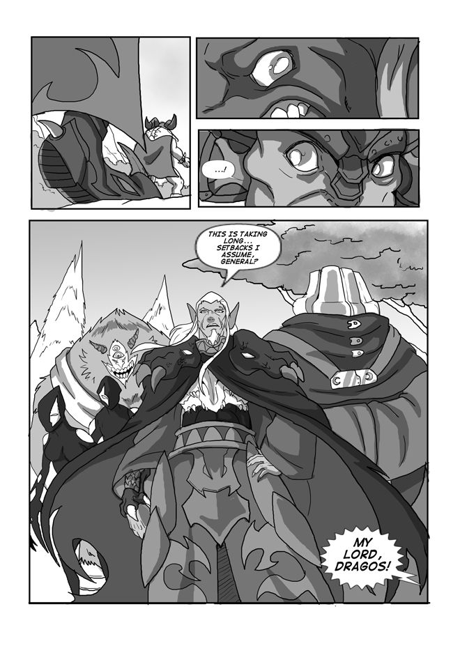 Issue 13, Page 35, Trouble Intensifies
