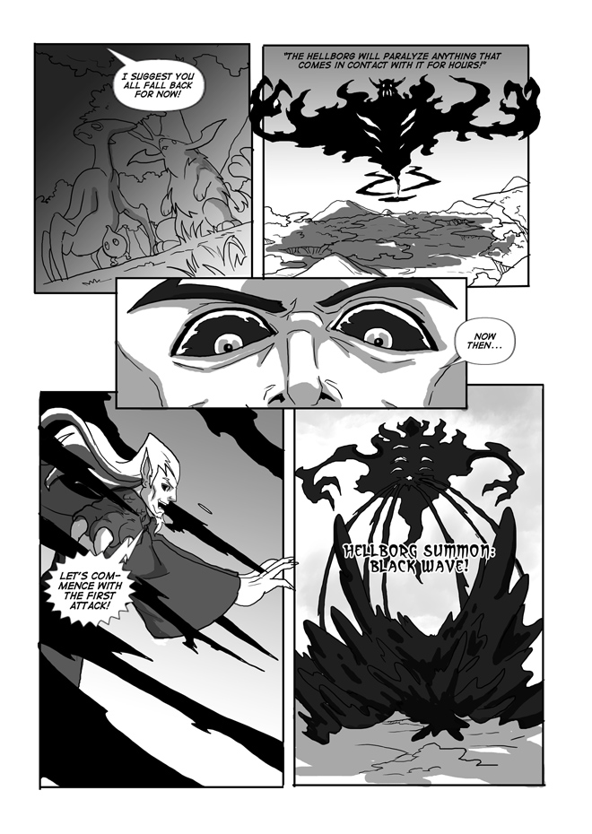 Issue 13, Page 38, Darkness Descends