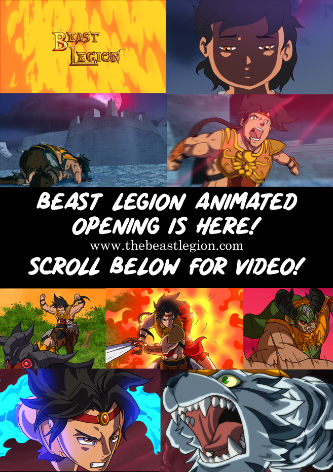 Beast Legion Animated Intro is HERE!!