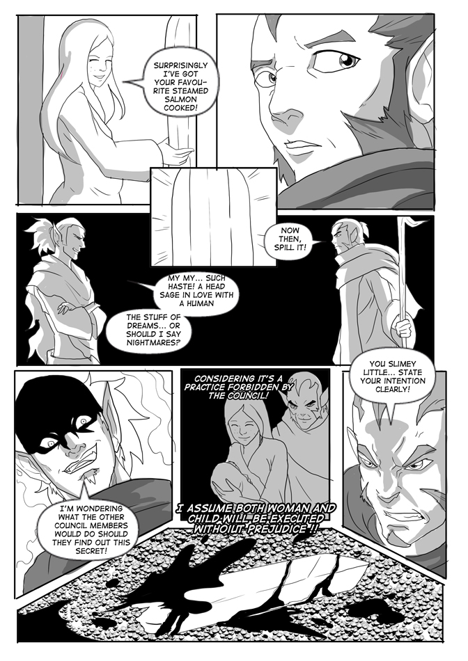 Issue 14, Page 30, Blackmail