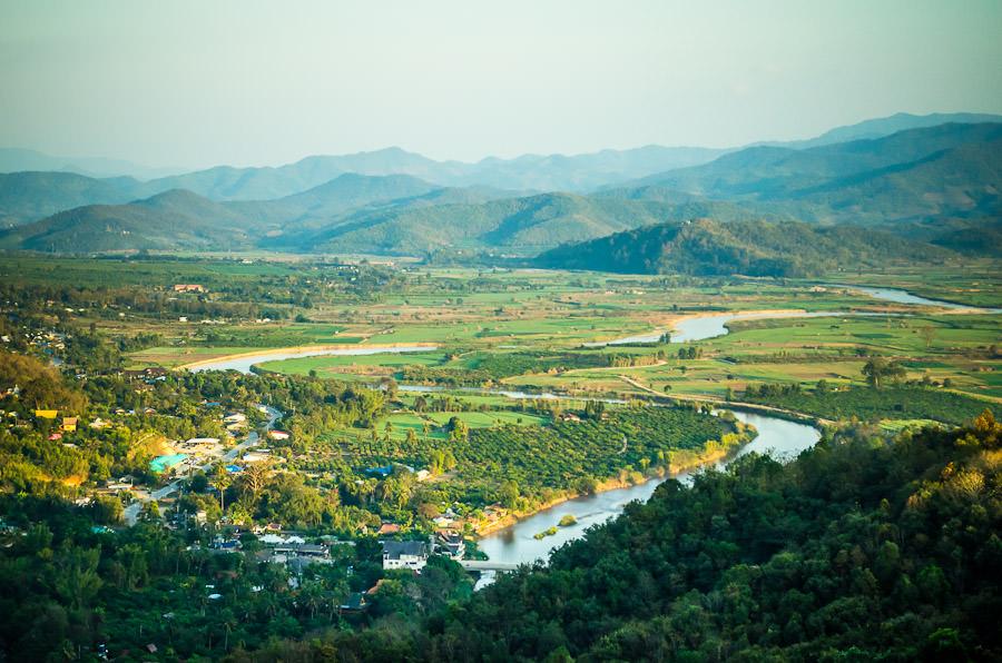 Thaton valley, Thailand.