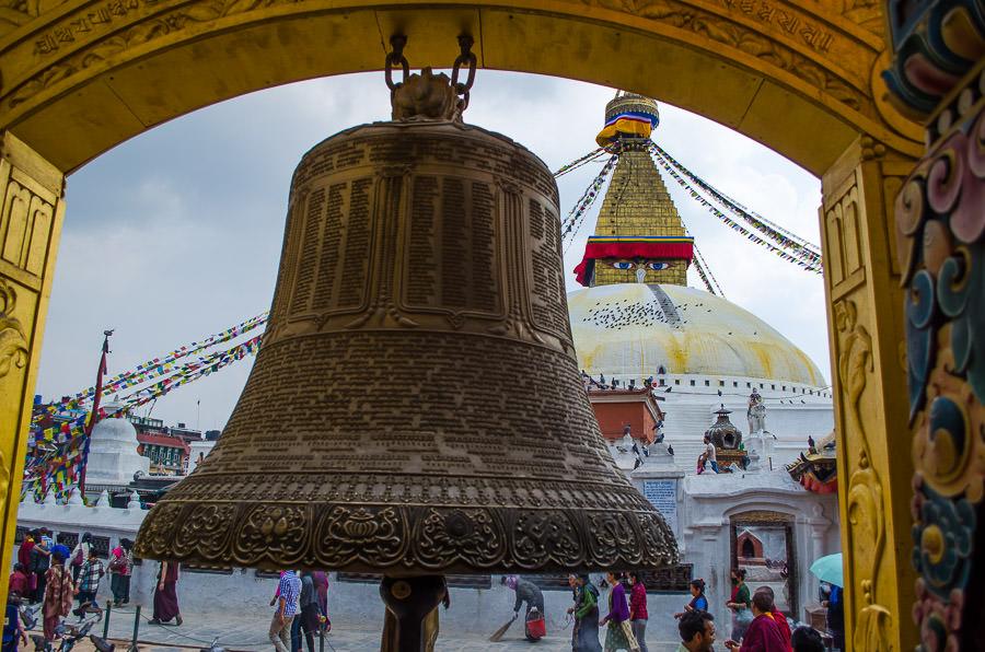 Boudhanath Temple, Kathmandu, Nepal.