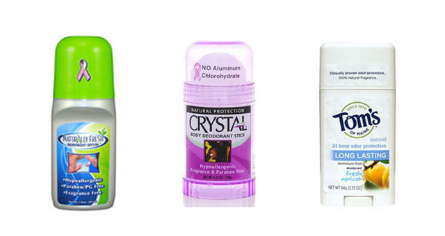 Natural deodorants we have tried.