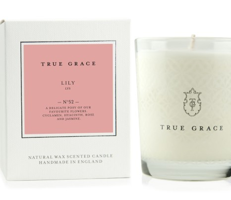 true grace lily candle