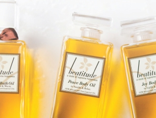 beatitude body oil trio