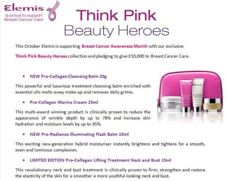 THINK PINK BEAUTY HEROES