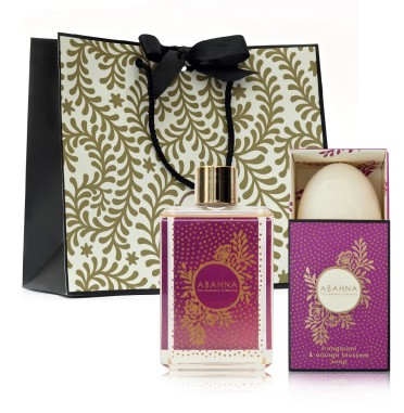 frangipani bathing essentials