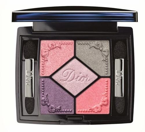dior 5 palette pink