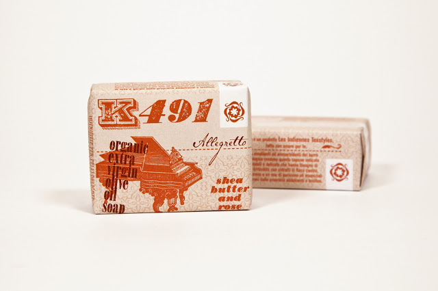 les indiennes shea butter and rose soap