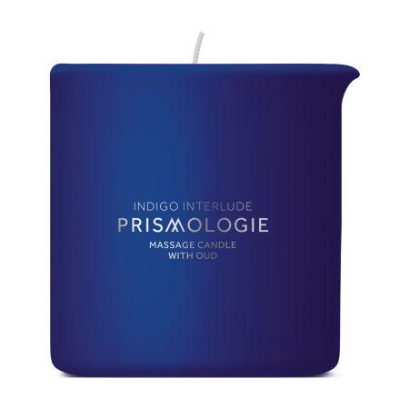 prismologie indigo massage candle with oud