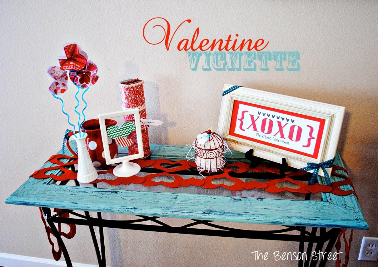 Valentine Vignette at The Benson Street