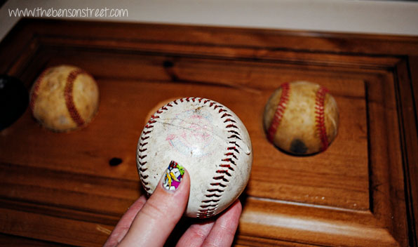 DIY Baseball Decor at www.thebensonstreet.com