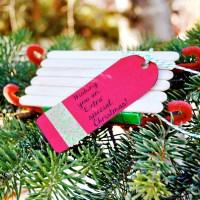 Extra Mint Gum Sled Ornament Gift #GiveExtraGum