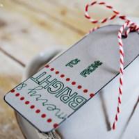 Dollar Store Christmas Gift Idea