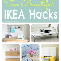 10 Beautiful Ikea Hacks