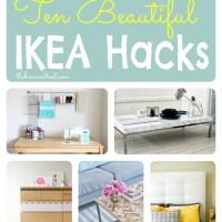 10 Beautiful Ikea Hacks