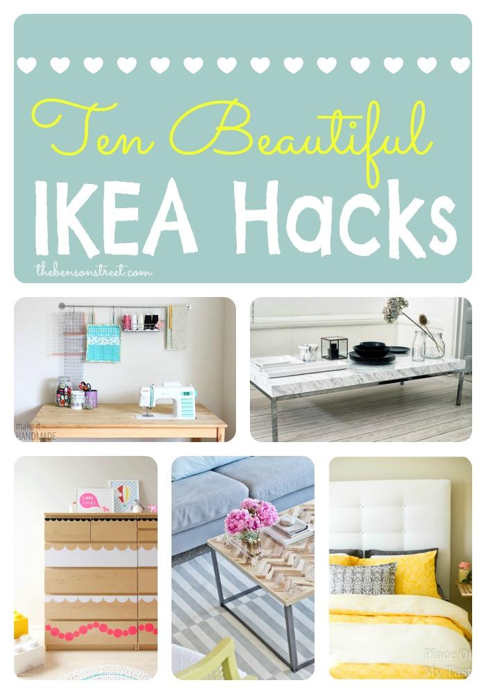 10 Beautiful Ikea Hacks at thebensonstreet.com
