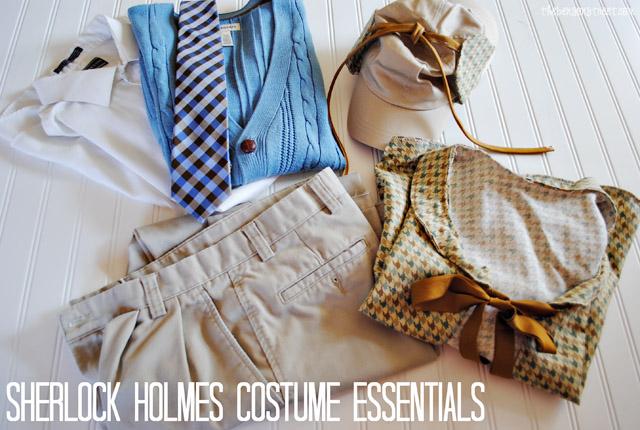 Sherlock Holmes Costume Essentials at thebensonstreet.com
