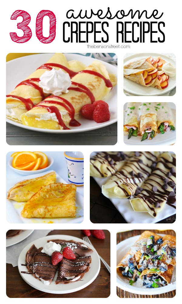 30 Awesome Crepes Recipes