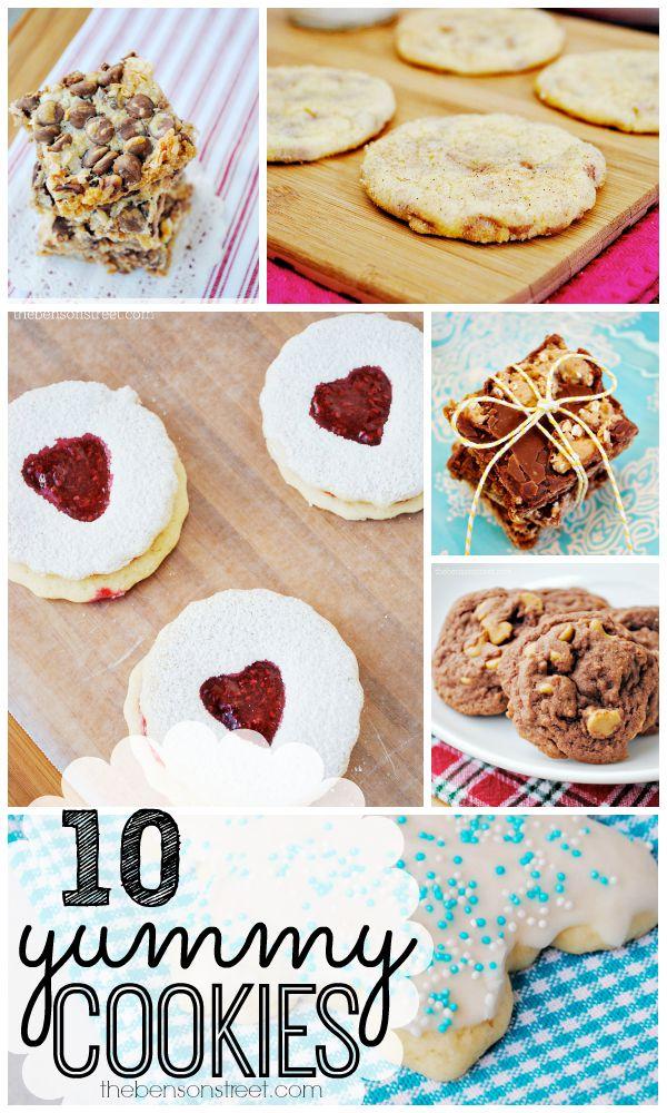 10 Yummy Cookies at thebensonstreet.com