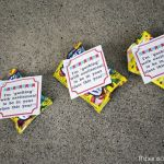 Back to School Gusher's Classroom Gift Tag Printable