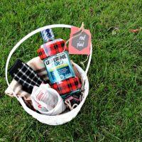 Rad Plaid Gift Basket Idea