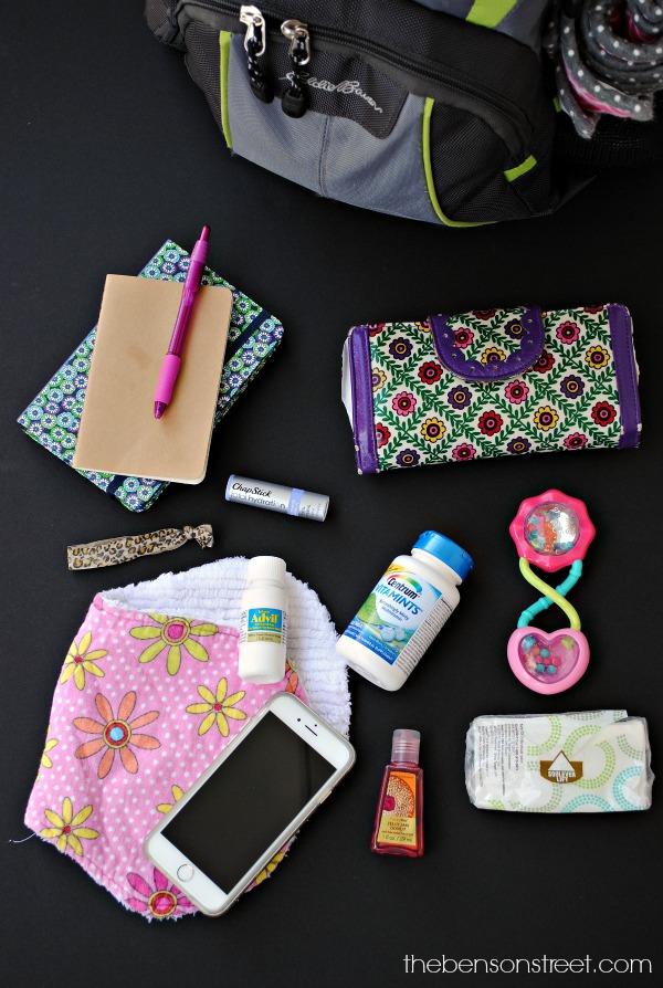 Diaper Bag Mom Essentials - The Benson Street