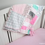 Pink, Mint, and Gray Girl Nursery