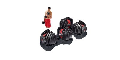 Bowflex SelectTech 552 Adjustable Dumbbells Pair