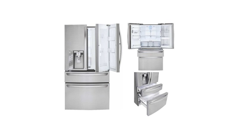 lg refrigerator at best buy. lg door in 29.9 cubic feet 4 french refrigerator with thru the ice and water stainless steel for $2,799.99 at best buy lg i