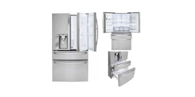 LG Door in Door 29.9 Cubic Feet 4 Door French Door Refrigerator with Thru the Door Ice and Water Stainless Steel