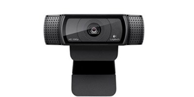 Logitech HD Pro Webcam C920 1080p Camera, Desktop or Laptop Webcam