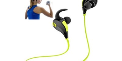 SoundPEATS Bluetooth Headphones Stereo Wireless Earphones for Running with Mic