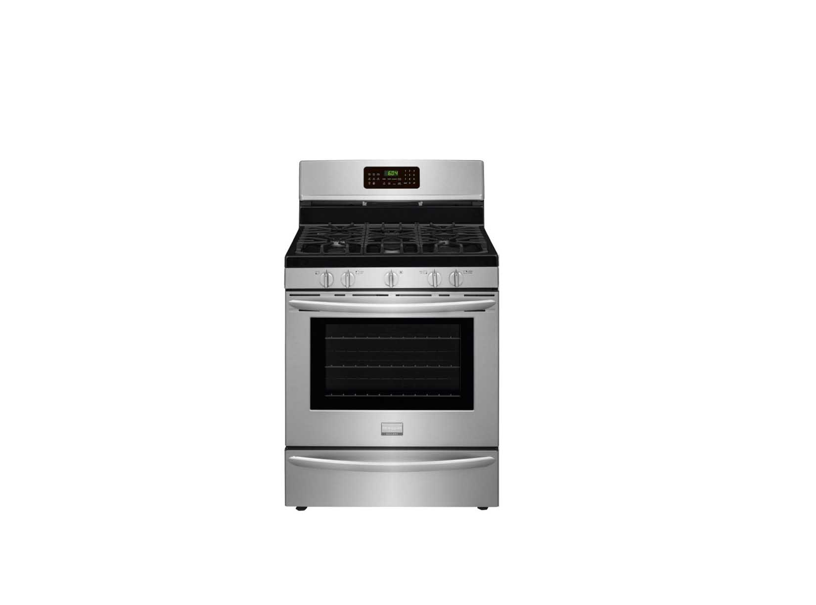 frigidaire gallery 5 cu ft gas range with convection stainless steel - Frigidaire Gallery Gas Range