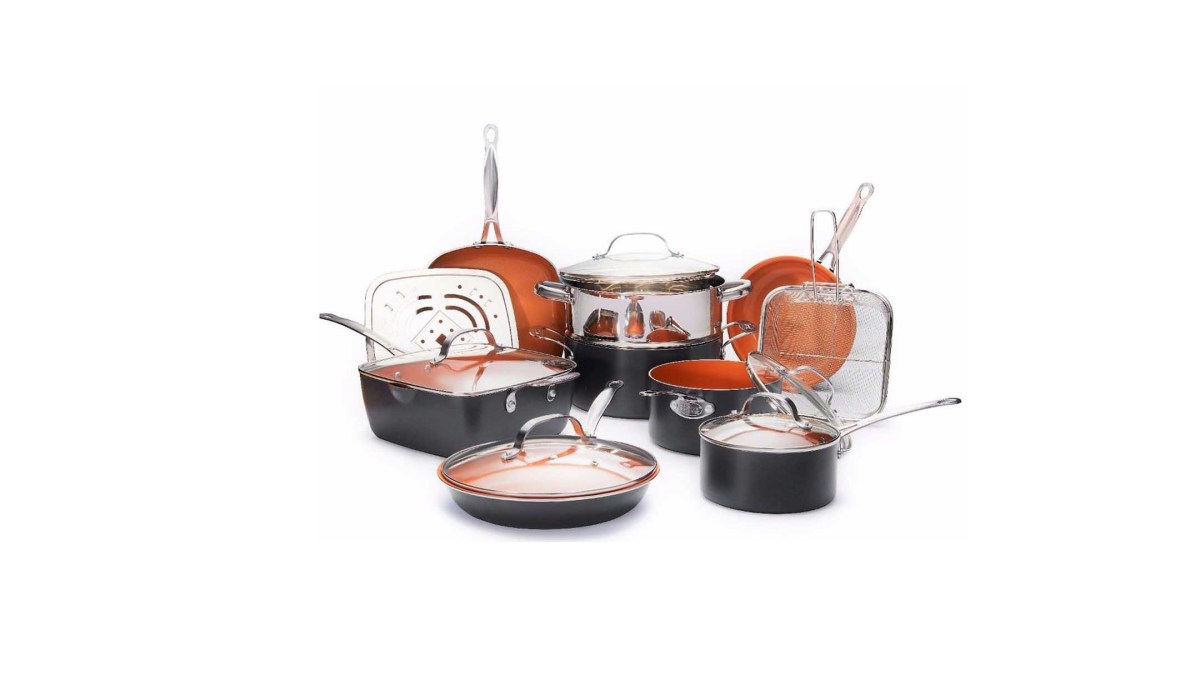 Gotham Steel Nonstick Ultimate 15 Piece All in One Kitchen Set for $139.99 at eBay