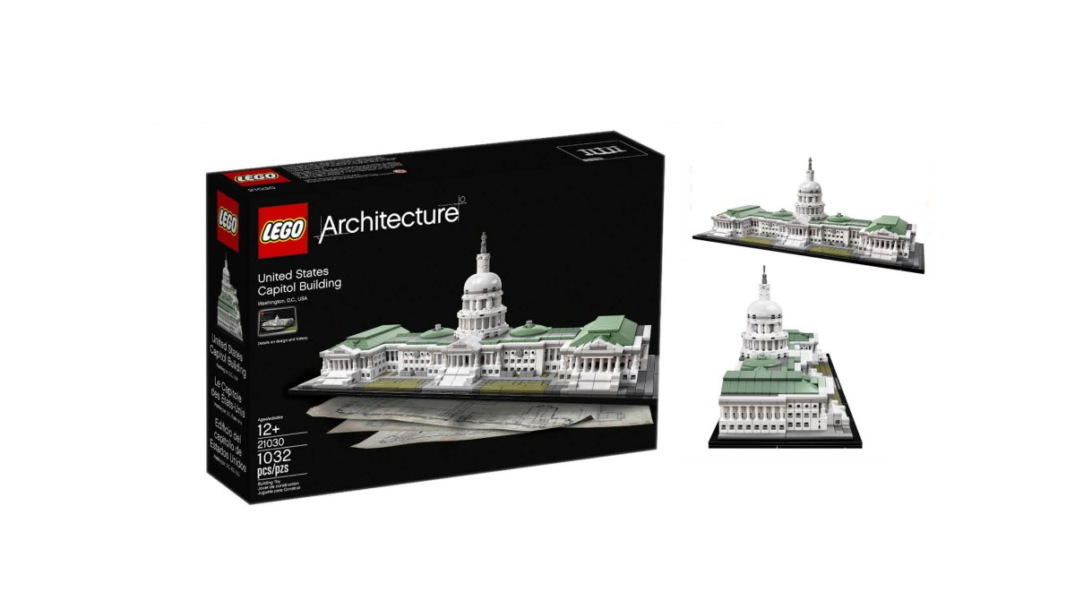 LEGO Architecture 21030 United States Capitol Building 1032 Piece Kit for $67.96 at Amazon & Walmart