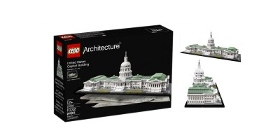 LEGO Architecture 21030 United States Capitol Building Kit 1032 Piece