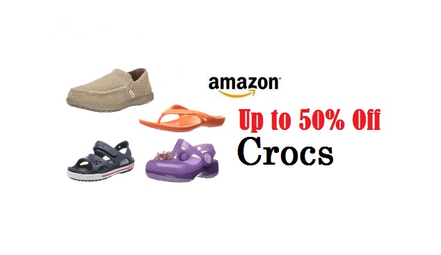 Save Up to 50% Off Crocs at Amazon