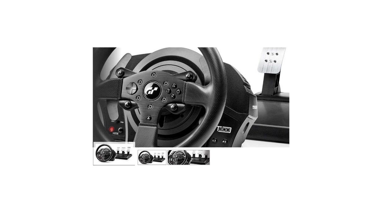 Thrustmaster T300 RS GT Racing Wheel - PlayStation 4 for $273.43 at Amazon