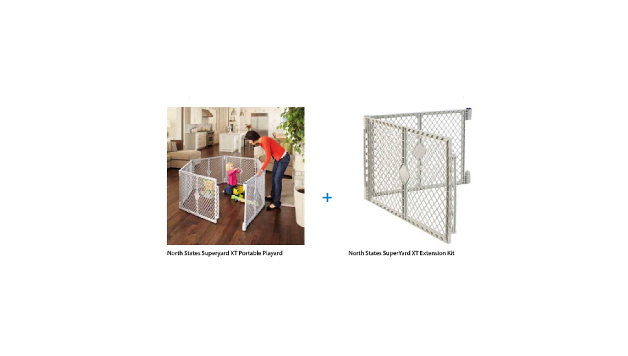 North States Portable Playard And Extension Kit Value Bundle For $68.00 At  Walmart U2013 The Best Deals Club