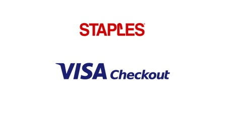 Staples Visa Checkout